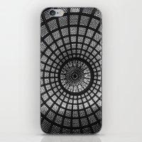 Tiffany Glass Dome Black… iPhone & iPod Skin