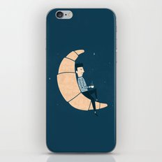 Ze Croissant Moon iPhone & iPod Skin