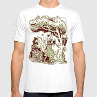 Intersectional Nature Mens Fitted Tee White SMALL