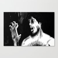 Beware The Moon, Lads Canvas Print