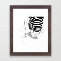 Black & White Study - 1 Framed Art Print