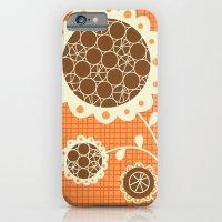 iPhone & iPod Case featuring Retro Sunshine Bouquet by shiny orange dreams
