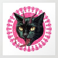 Krampuss Art Print