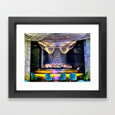 Smooth Night Out Framed Art Print
