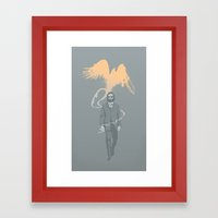 Out Of The Ashes Arose A… Framed Art Print