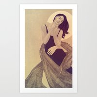 Haunted Thought Art Print