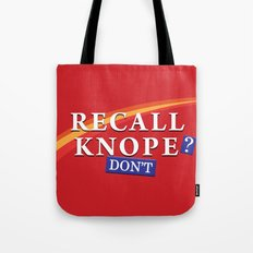 Recall Knope Tote Bag