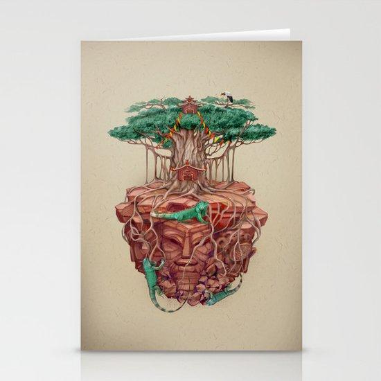 tree land Stationery Card