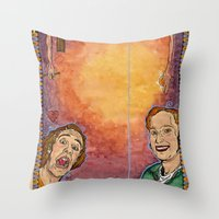 Us And Them (aka. Lovers… Throw Pillow