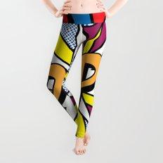 POP Art #4 Leggings