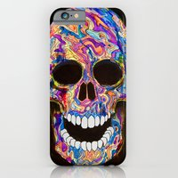Chromatic Skull 02 iPhone 6 Slim Case