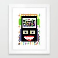 I disco Piff  Framed Art Print