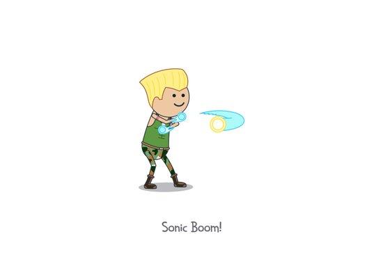 Sonic Boom! Canvas Print