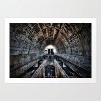 Dunlop Semtex Art Print
