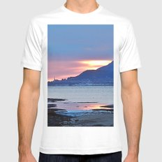Sunrise in Tourelle White Mens Fitted Tee SMALL
