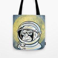 Space Ape Tote Bag
