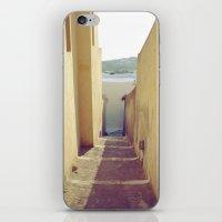 Yellow Path iPhone & iPod Skin