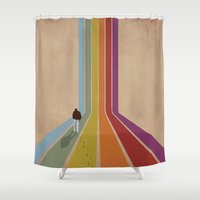 Lonely Shower Curtain