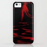 Feathers Red iPhone 5c Slim Case