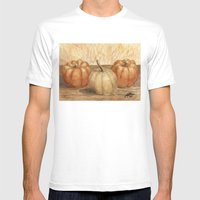 Mini Pumpkins I Mens Fitted Tee White SMALL