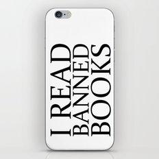Banned Books iPhone & iPod Skin