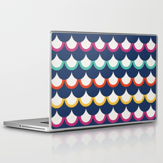 Retro Scales Laptop & iPad Skin