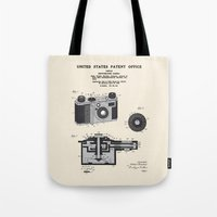 Camera Patent 1938 Tote Bag