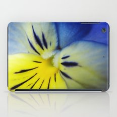Flower Blue Yellow iPad Case