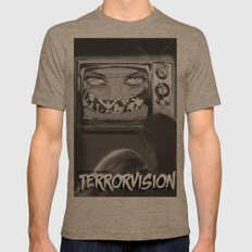 TERRORVISION Mens Fitted Tee Tri-Coffee SMALL