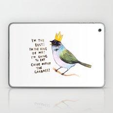 Trash Bird Self Affirmat… Laptop & iPad Skin
