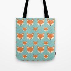 Fox Minimal Illustration Tote Bag