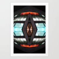 OEN 0215 (Symmetry Series) Art Print