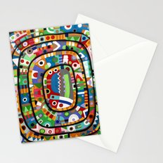 Planet of all good people Stationery Cards