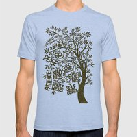 The Fruit Of The Spirit … Mens Fitted Tee Athletic Blue SMALL