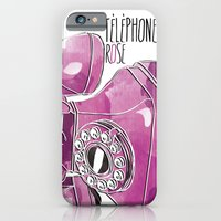 Téléphone Rose  iPhone 6 Slim Case
