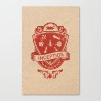 Totem Emblem Canvas Print