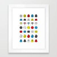 Balance in the Force Framed Art Print