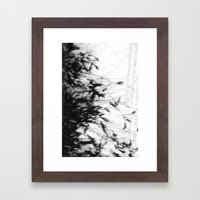 Dark Rain Framed Art Print