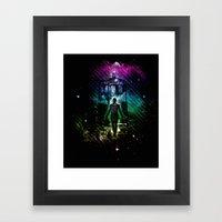 Time Traveller V2 Framed Art Print