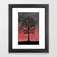 Skull Tree II  Framed Art Print