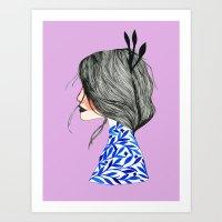 Miss June Art Print