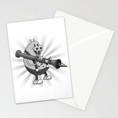 Retro Cartoon Hippo Stationery Cards