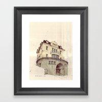 Hohenzollernstraße, Stuttgart Framed Art Print