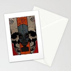 Split Skull Stationery Cards