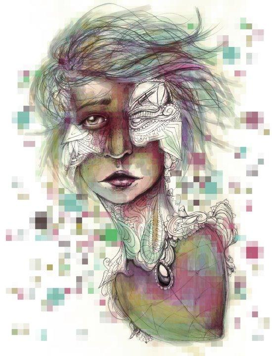 Hominal Cybernated Art Print