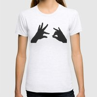 Did you hear the one about ... Womens Fitted Tee Ash Grey SMALL