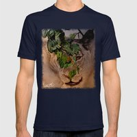 I See You! Mens Fitted Tee Navy SMALL