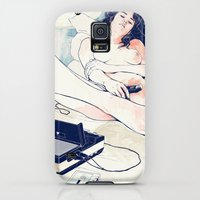 Galaxy S5 Cases featuring Nothing to say by Anton Marrast