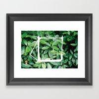 Cathode / Blossom Framed Art Print