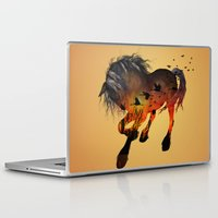 horse Laptop & iPad Skins featuring Horse by nicky2342